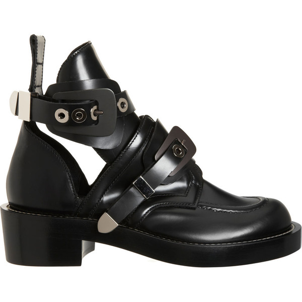 Balenciaga Cutout Boot - Polyvore 0f19db2a074