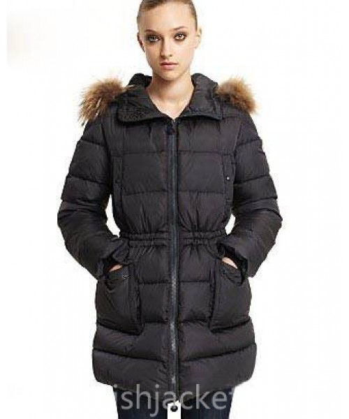 Moncler Gueran Coat Women Black Bj130478