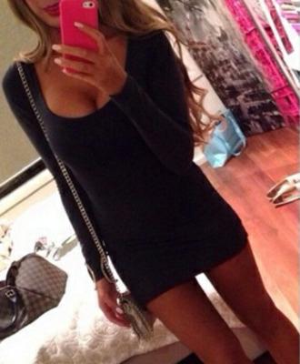 dress black tight dress short party dresses little black dress