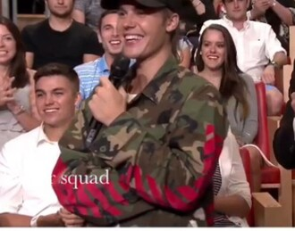 jacket justin bieber military style green camouflage cool amazing summer spring fall outfits army green jacket