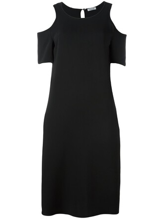 dress women cold black