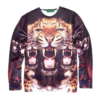 Mirror tiger hoodie · electric shop · online store powered by storenvy