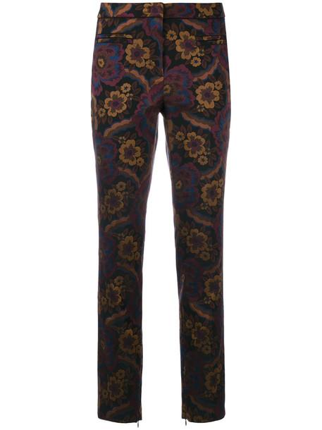 Cambio women floral pattern pants