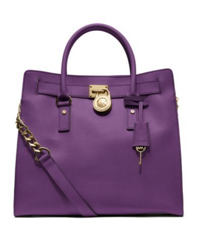 MICHAEL Michael Kors Large Hamilton North/South Saffiano Leather Tote | Dillards.com