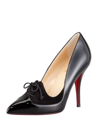 Christian Louboutin So Kate Mirrored Leather Red Sole Pump, Bronze - Bergdorf Goodman