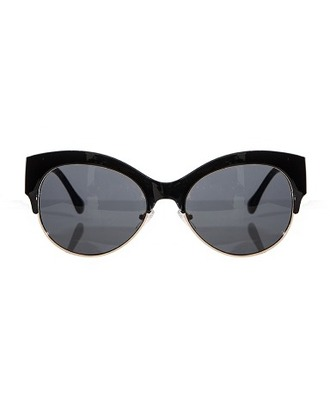 sunglasses sunnies black and gold vintage black gold cat eye cute affordable sunglasses pixie market pixie market girl