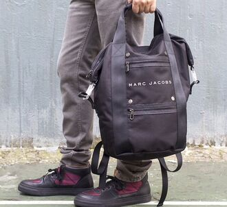 bag backpack marc jacobs marc jacobs back pack marc by marc jacobs menswear