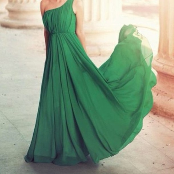 dress green lovely