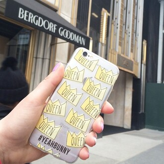 phone cover yeah bunny queen iphone tumblr new york city