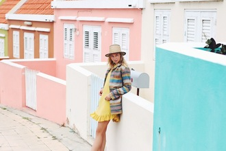 by vh blogger yellow dress