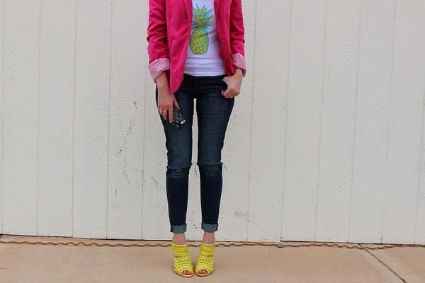fashion flirtation top jacket shoes jewels