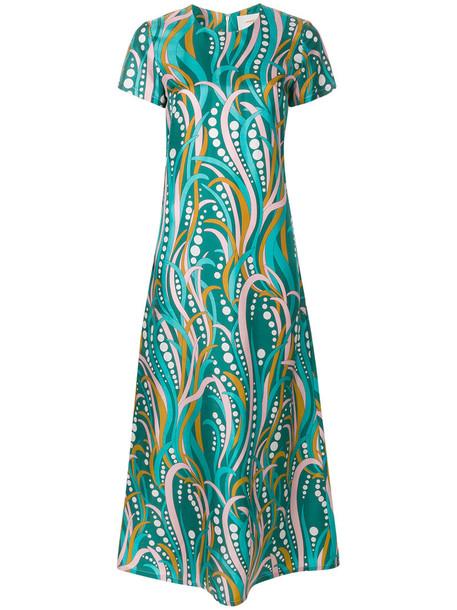 La DoubleJ dress swing dress women silk