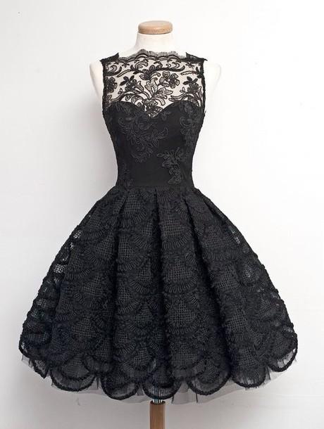 6137f44549ce black dress formal shee sheer lace little black dress semi formal formal  dress sweetheart dress sweetheart