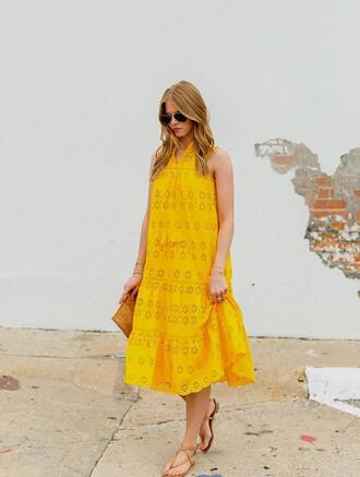 dress tumblr midi dress lace dress sleeveless sleeveless dress sandals flat sandals summer dress shoes