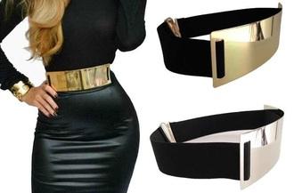belt waist belt gold belt