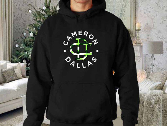 Cameron dallas army logo fs27 hoodie logo and sweater design