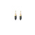 Onyx Point Post Earrings