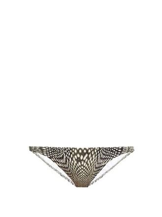 bikini white black swimwear