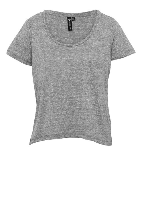 floppy croppy fleck top | Cotton On
