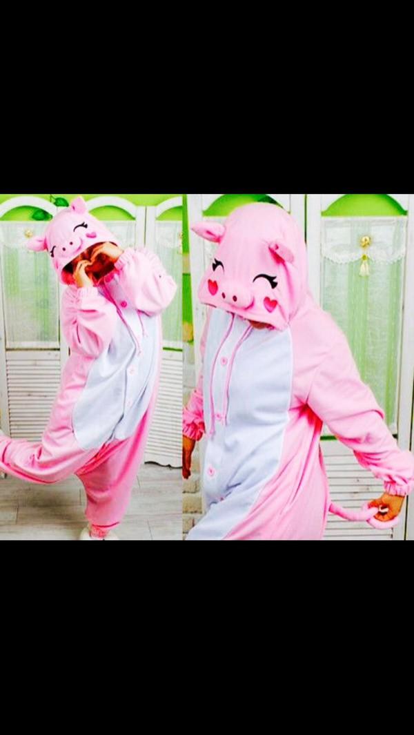 pajamas cute pink onesie