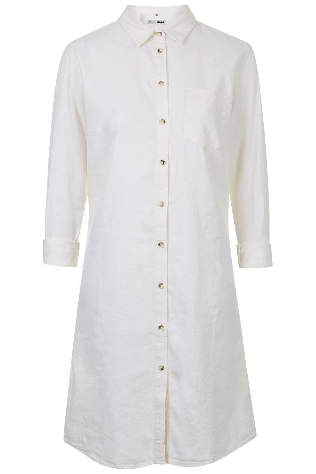 Fit shirt dress