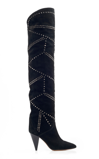 Ladra Leather Over-The-Knee Boots by Isabel Marant | Moda Operandi