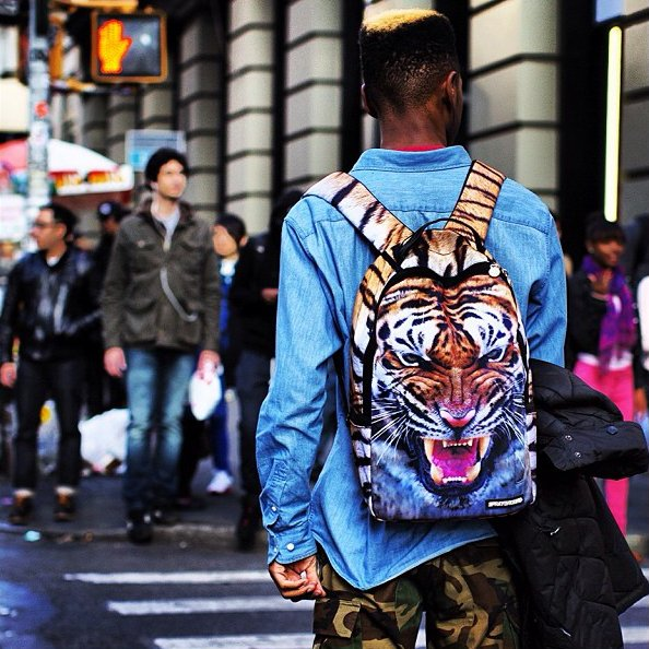 Fancy - Year Of The Tiger Backpack by Sprayground
