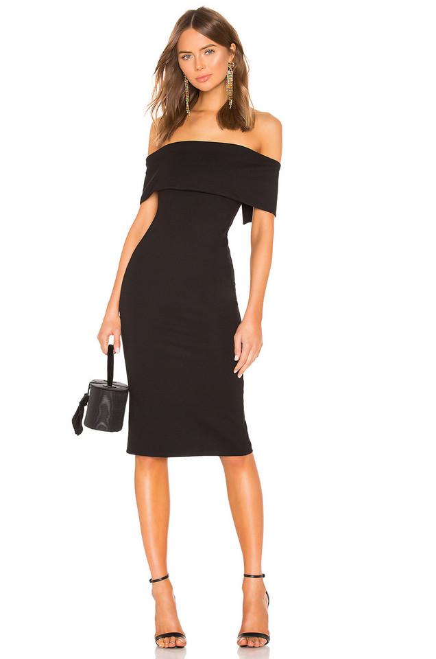 LPA Clarina Dress in black