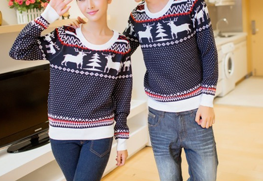 Couple sweater