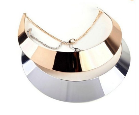 Occident fashion decent metal necklace hot sale metal collars 2choose free ship