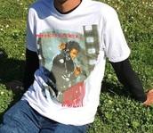 shirt,bad tour,michael jackson