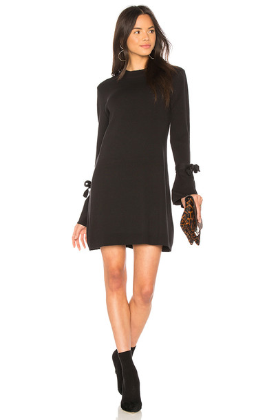 dress knit black