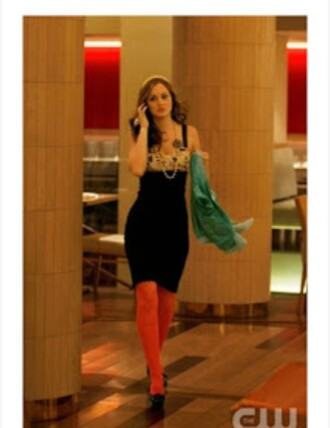 dress gossip girl blair tights