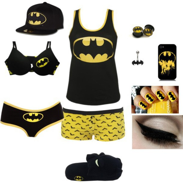 home accessory batman batman shirt batman tank batman hat batman underwear batman shirts batman tank top black yellow cap underwear bra iphone case dc hat outfit shoes hat superheroes