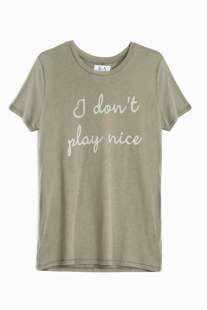 Zoe Karssen t-shirt shirt t-shirt nice grey top