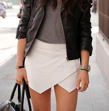 Desinger Style Skirt Shorts from Kai Elise Boutique on Storenvy