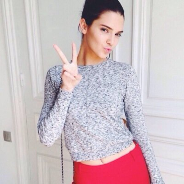 pants sweater kendall jenner