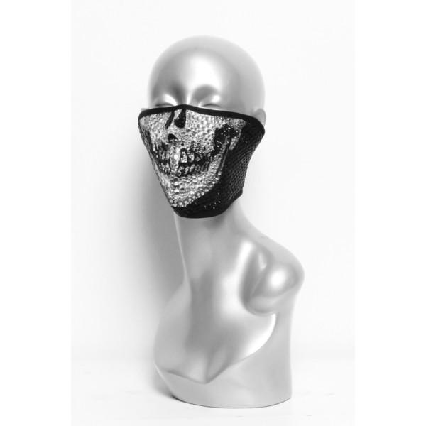 Marco Marco | Swarovski Skull Mask - Polyvore