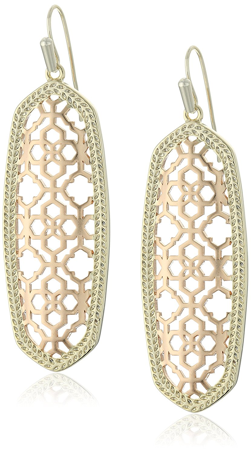 Com kendra scott brenden rose gold drop earrings jewelry amazon kendra scott brenden rose gold drop earrings jewelry arubaitofo Images