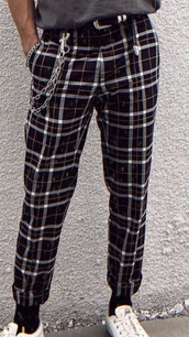 pants,plaid