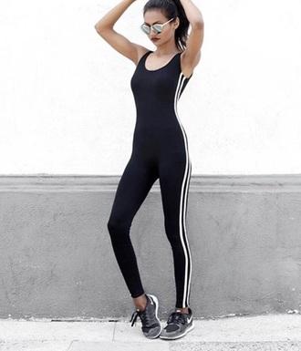 jumpsuit adidas 3 stripe jumpsuit adidas