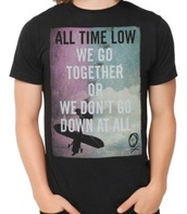 band t-shirt,band,all time low,t-shirt,top,tank top,starbucks coffee,logo,mens t-shirt
