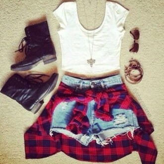 shoes boots shorts t-shirt top sunglasses jewelry jewels denim shorts denim earrings white black blouse