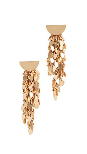 Madewell statement earrings statement earrings light gold jewels