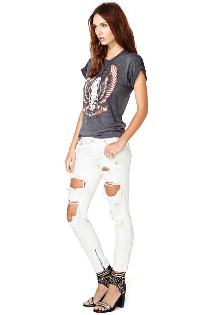 One Teaspoon Freebird Jeans at Nasty Gal