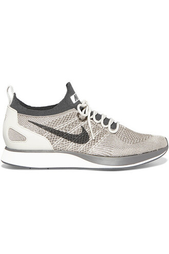 metallic light sneakers leather shoes