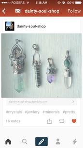 jewels,crystal quartz,poison box,locket
