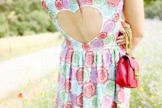 bag dress the cherry blossom girl