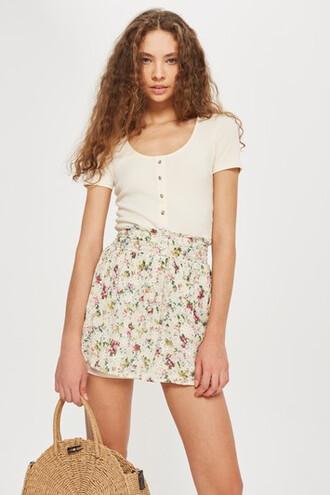 skirt mini skirt mini print