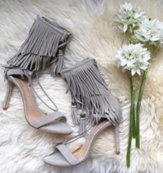 shoes grey heels cute love
